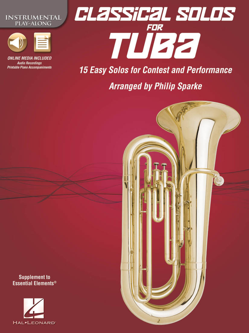 Hal Leonard Classical Solos For Tuba Instrumental Play