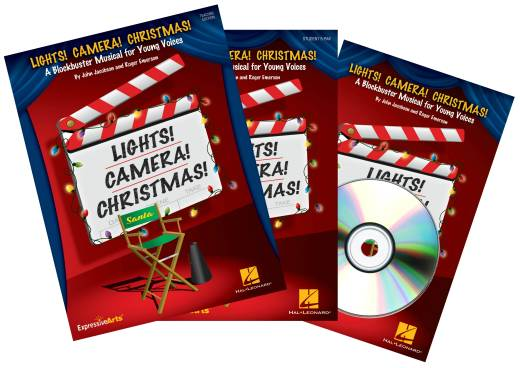 Lights! Camera! Christmas! (Musical) - Jacobson/Emerson - Performance Kit