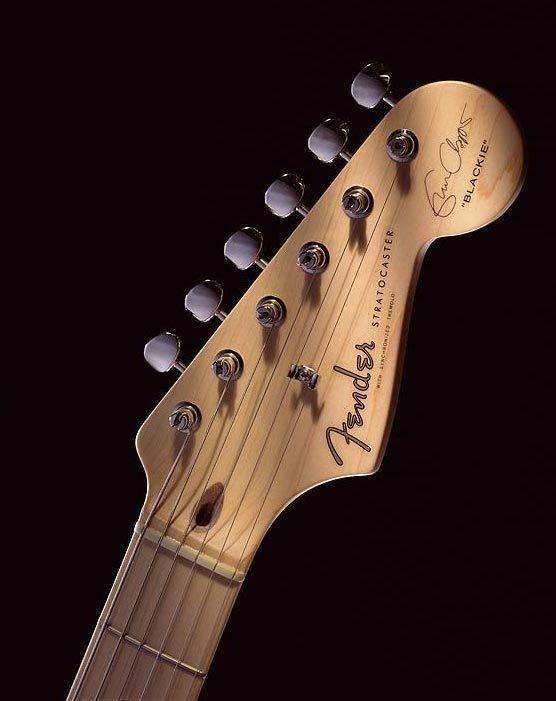 fender eric clapton stratocaster electric guitar black long mcquade musical instruments. Black Bedroom Furniture Sets. Home Design Ideas