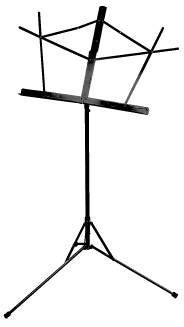 Basic Folding Music Stand in Black