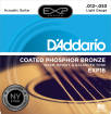 DAddario - EXP16 - Phosphor Bronze Coated Light, 3-Pack