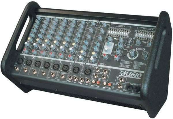 Yorkville Sound Micromix 1600 Watt 10 Channel Powered