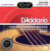 DAddario - EXP17 - Phosphor Bronze Coated Medium 13-56