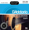DAddario - 80/20 Bronze Coated Acoustic Strings
