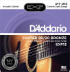 DAddario - EXP13 - 80/20 Bronze Coated Custom Light 11-52