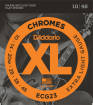 DAddario - Chromes Flat Wound Electric Strings