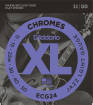 DAddario - ECG24 - Chromes Flat Wound JAZZ LIGHT 11-50