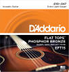 DAddario - Flat Tops Phosphor Bronze Acoustic Strings