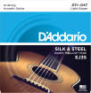 DAddario - EJ35 - Silk & Steel 12-String Silverplated Wound