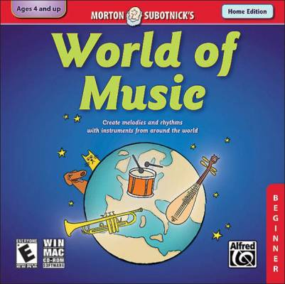 Creating Music Series: World of Music (Beginner) (Home Version)