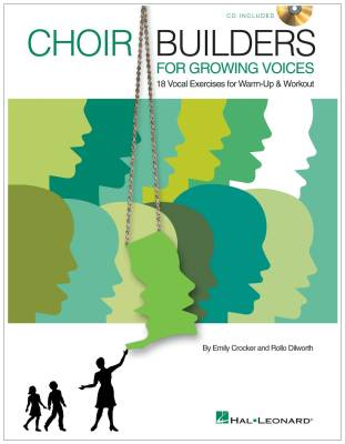 Choir Builders for Growing Voices - Crocker/Dilworth - Book/CD