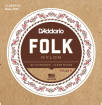 DAddario - EJ33 - Folk Nylon 80/20 Bronze/Clear Nylon