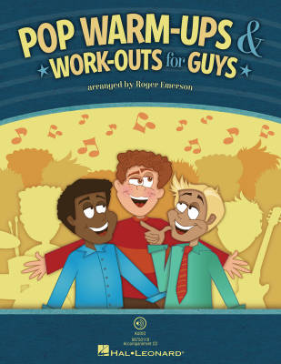 Pop Warm-Ups & Work-Outs for Guys - Emerson - Book