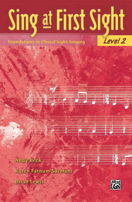 Sing at First Sight, Level 2 - Beck/Surmani/Lewis - Choral Voices - Book