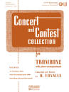 Rubank Publications - Concert and Contest Collection for Trombone - Voxman - Book/Media Online