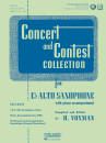 Rubank Publications - Concert and Contest Collection for Eb Alto Saxophone - Voxman - Book/Media Online
