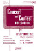 Rubank Publications - Concert and Contest Collection for Baritone B.C. - Voxman - Book/Media Online
