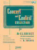Rubank Publications - Concert and Contest Collection for Bb Clarinet - Voxman - Book/Media Online