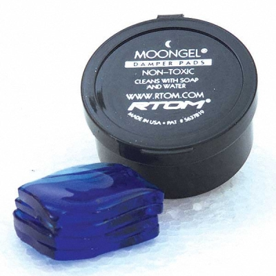 Moongel Damper Pads (6 pcs) - Blue