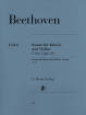 G. Henle Verlag - Violin Sonata F major op. 24 (Spring) - Beethoven/Brandenburg - Violin/Piano - Sheet Music