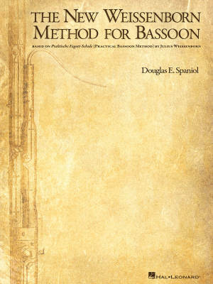 The New Weissenborn Method for Bassoon, Volume I - Spaniol - Bassoon - Book