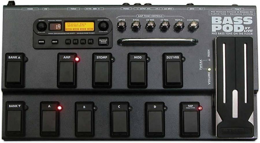 Line 6 Bass POD XT LIVE - Long & McQuade Musical Instruments