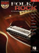 Hal Leonard - Folk/Rock: Harmonica Play-Along Volume 4 - Book/CD