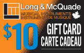 Long & McQuade - $10 Gift Card