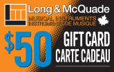 Long & McQuade - $50 Gift Card