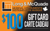 Long & McQuade - $100 Gift Card