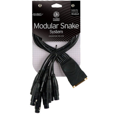 Modular Snake System Breakout Cables - 8 Female Male