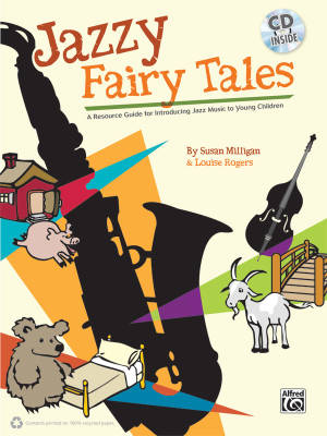 Jazzy Fairy Tales - Milligan/Rogers/Strong - Classroom - Book/CD