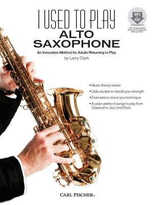 I Used To Play Alto Saxophone - Clark - Book/CD
