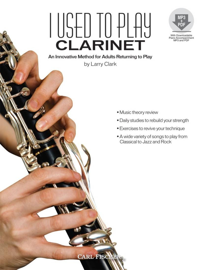 Carl Fischer - I Used To Play Clarinet - Clark - Book/CD