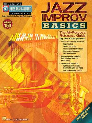 Jazz Improv Basics: Jazz Play-Along, Vol. 150 - Book/Audio Online