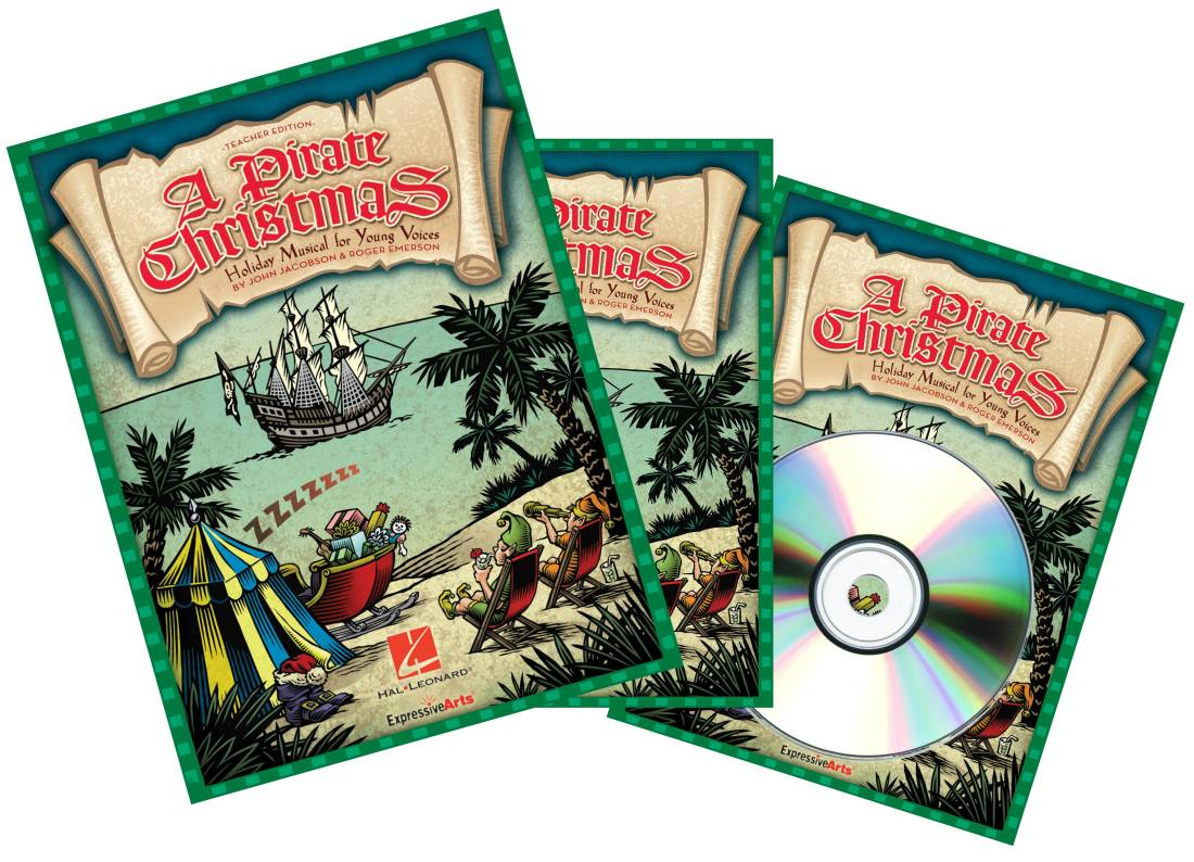 Hal Leonard - A Pirate Christmas (Musical) - Jacobson/Emerson - Performance  Kit