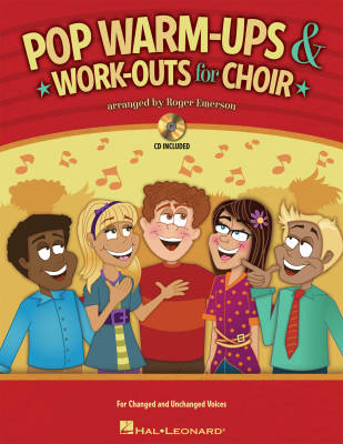 Pop Warm-ups & Work-Outs for Choir - Emerson - Book/CD