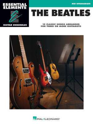 The Beatles: Essential Elements Guitar Ensembles - Book