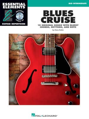 hal leonard blues cruise essential elements guitar repertoire rubin book cd long. Black Bedroom Furniture Sets. Home Design Ideas