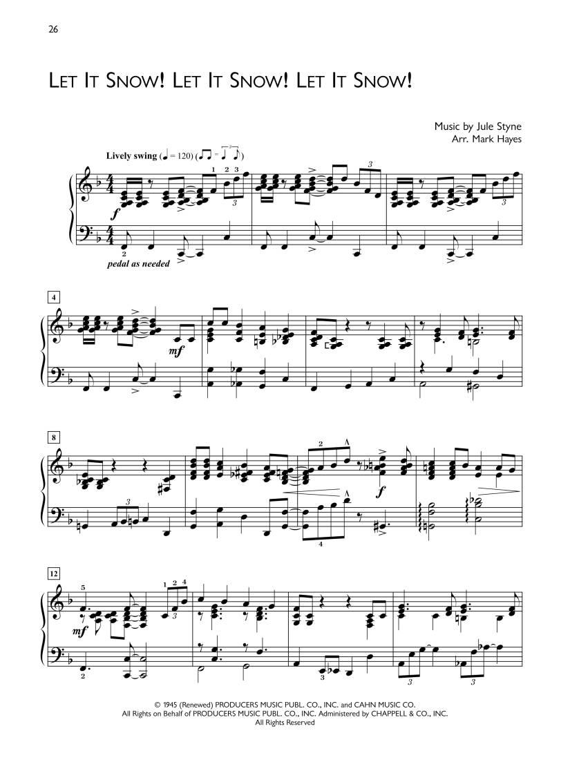 Popular Performer: Christmas Classics - Hayes - Advanced Piano - Book