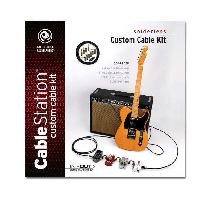 planet waves instrument cable kit long mcquade musical instruments. Black Bedroom Furniture Sets. Home Design Ideas