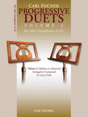 Progressive Duets, Vol. 2 For Alto Saxophone