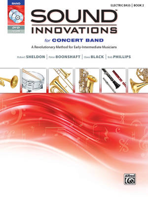 Sound Innovations for Concert Band, Book 2 - Electric Bass - Book/CD/DVD