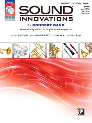 Sound Innovations for Concert Band, Book 2 - Combined Percussion - Book/CD/DVD