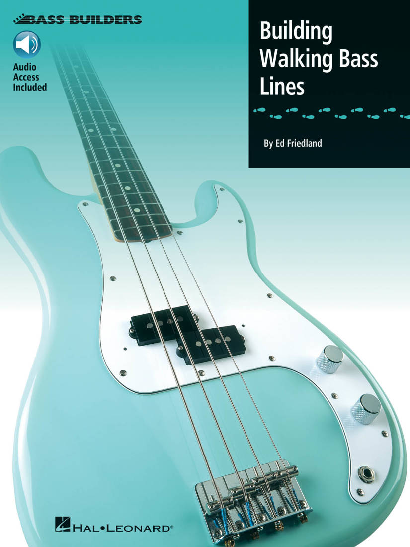 hal leonard building walking bass lines friedland bass guitar book audio online long. Black Bedroom Furniture Sets. Home Design Ideas