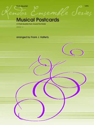 Musical Postcards (10 Flute Quartets From Around The World)