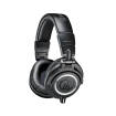 Audio-Technica - ATH-M50X Closed Back Monitor Headphones w/3 Cables - Black