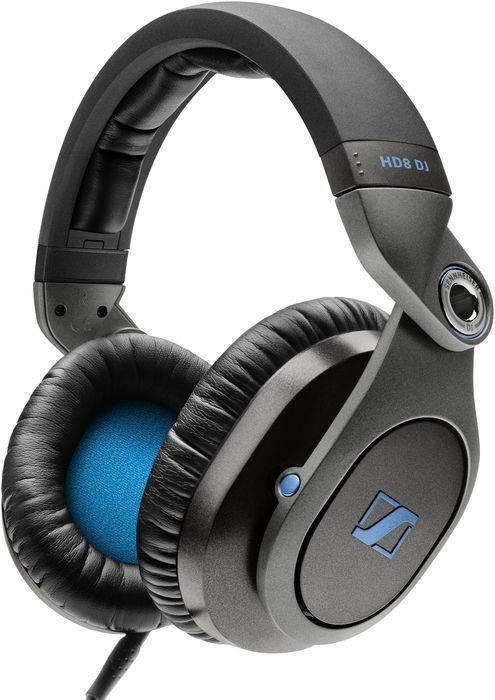 da2ed2178a5 Sennheiser HD8 DJ Closed DJ Headphones - Long & McQuade Musical ...