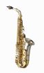 Yanagisawa - Alto Saxophone WO Series - Elite Model Sterling Silver Neck/Bell, Brass Body/Bow - Clear-Lac. Finish