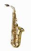 Yanagisawa - Alto Saxophone WO Series - Elite Model Sterling Silver Neck/Body, Brass Bell/Bow - Clear-Lac. Finish